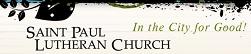 Saint Paul Lutheran Church banner