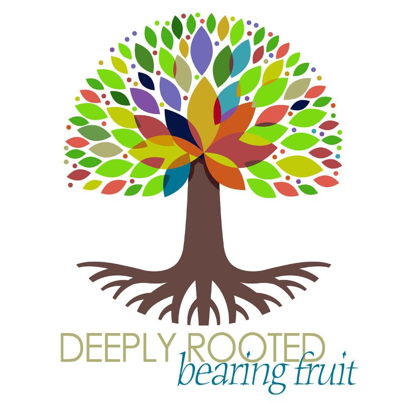 Deeply Rooted Tree Graphic