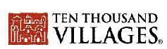Ten Thousand Villages gift shop logo