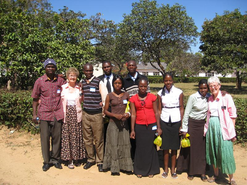 Missionaries from Elim to Zambia