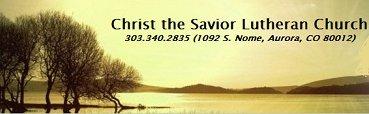 Christ the Savior Lutheran Church logo