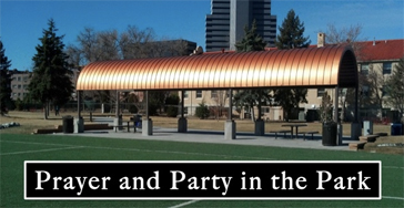 Prayer and Party in the Park Event