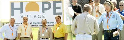 Hope Village volunteers