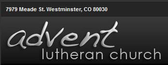 Advent Lutheran Church banner