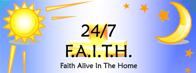 24/7 Faith Alive in the Home logo