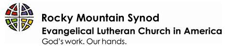 Rocky Mountain Synod logo