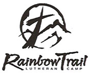 Rainbow Trail Lutheran Camp b/w logo