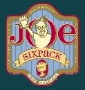 Joe Sixpack logo blue background
