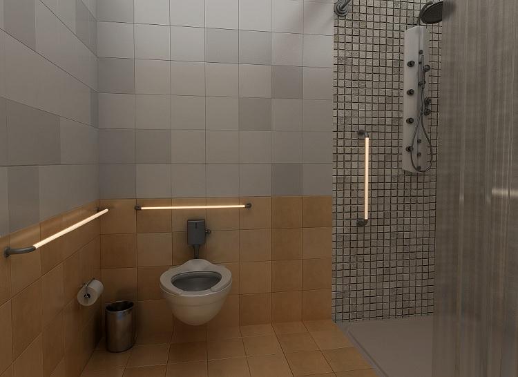 IllumaGrip Bath Rendering