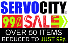 ServoCity 99cent Sale