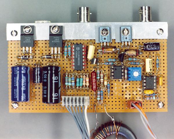 B-H tester board