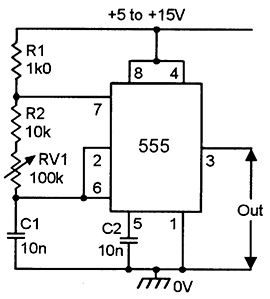 555 Astable Circuits