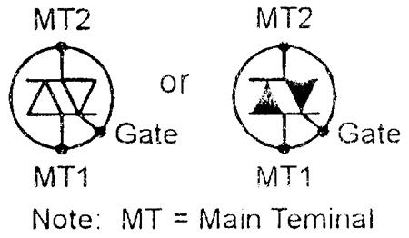 Triac Symbols