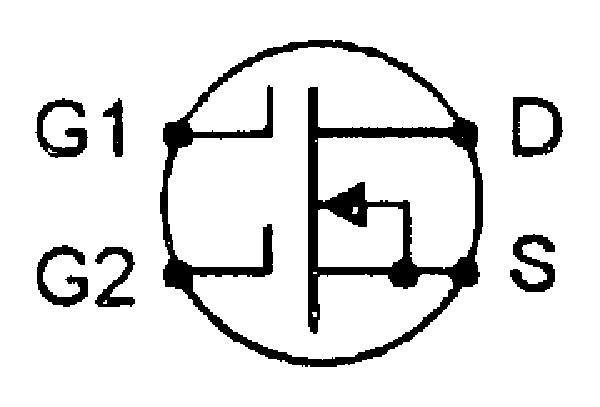 Dual-gate or tetrode MOSFET.
