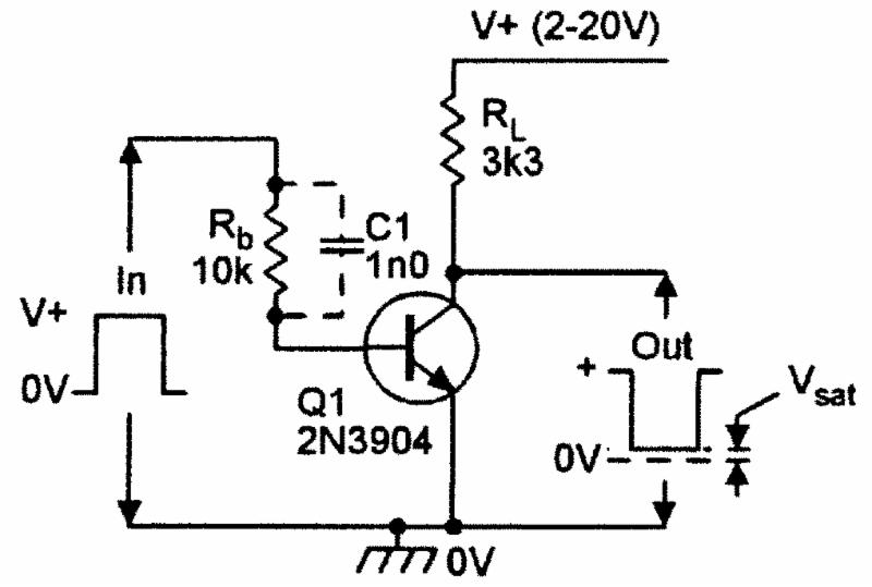 Practical common-emitter and common-base amplifier circuits.