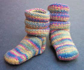 Cat Bordhi Baby Socks