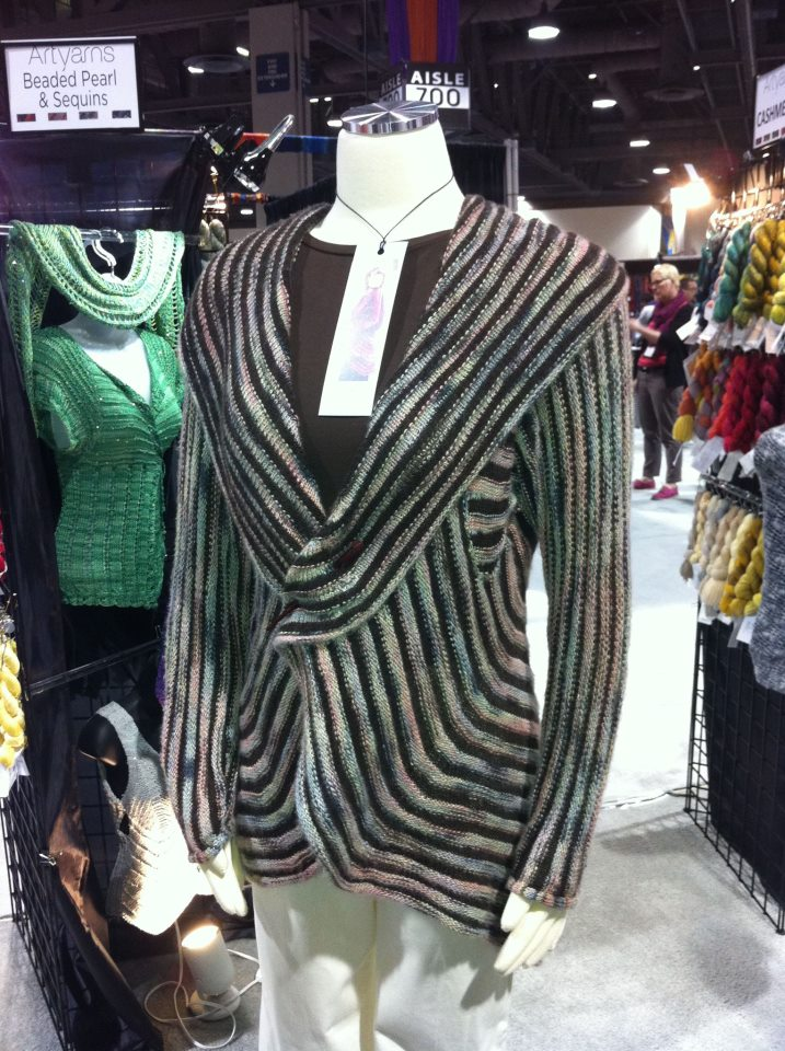 Sandra McIver's Rubies & Ribbons Coat