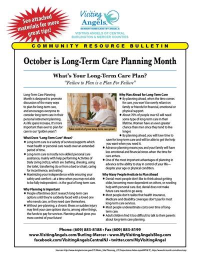 October Community Resource Bulletin