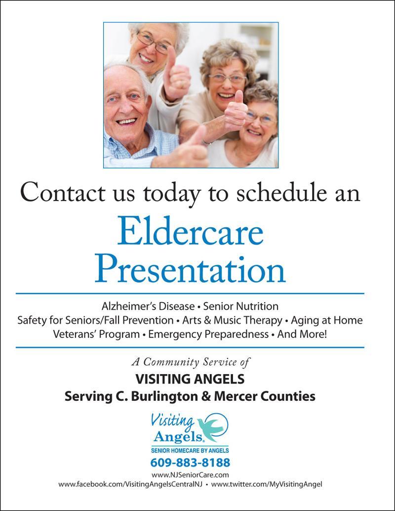 Elder Care Presentation Flyer