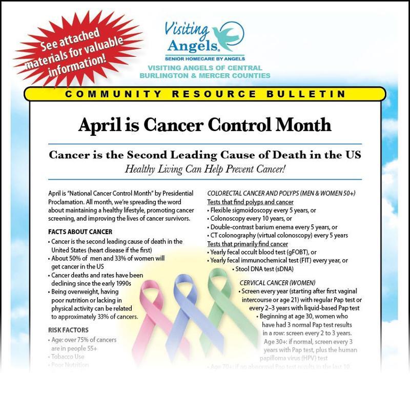 April Community Resource Bulletin