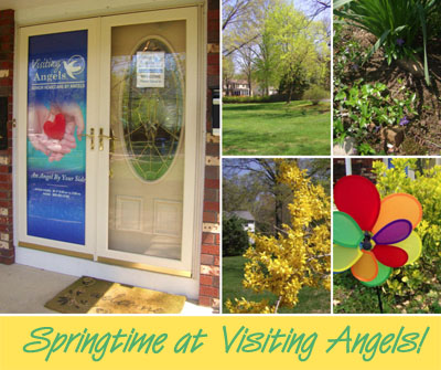 Springtime at Visiting Angels