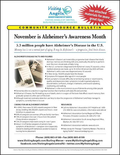 November Community Resource Bulletin