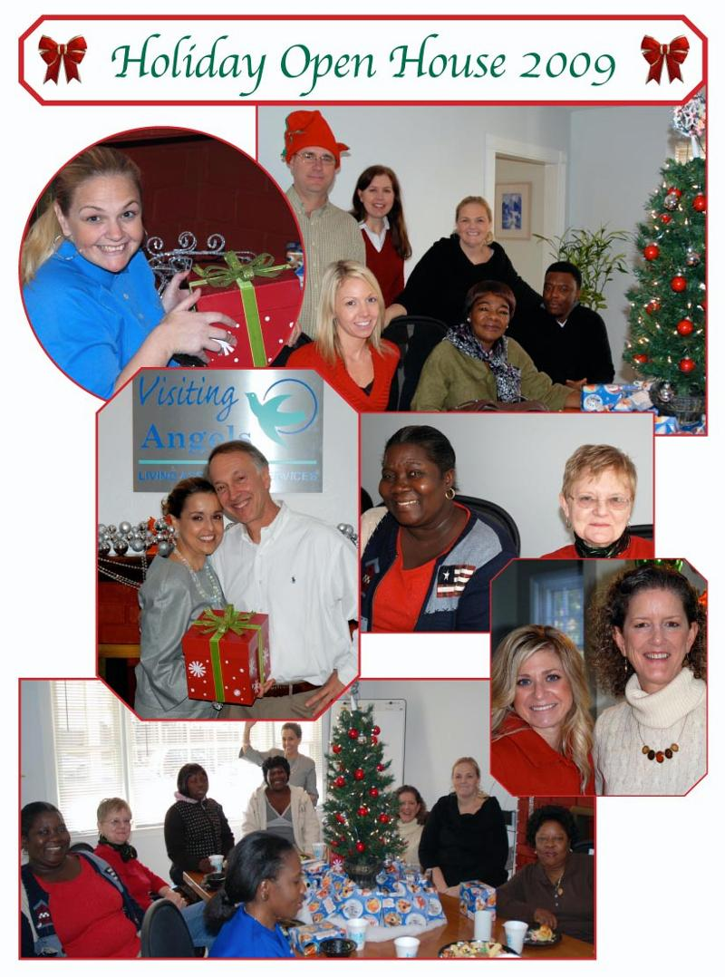 Holiday Open House collage