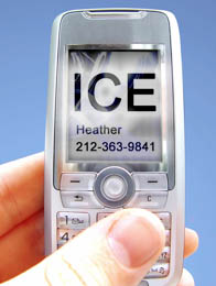 ICE cell phone