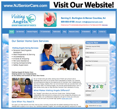 NJ Senior Care page
