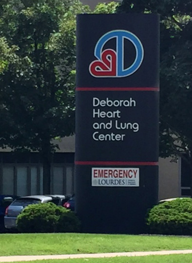 Deborah Heart and Lung Center in Browns Mills, NJ is one of our referral sources