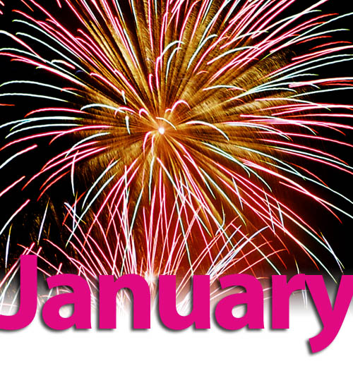 January Fireworks