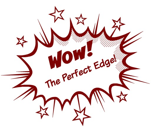 715-Advancing Handtools, Wow, The Perfect Edge Badge
