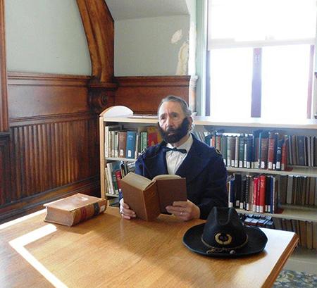 Photo Charles Plummer as U.S. Grant