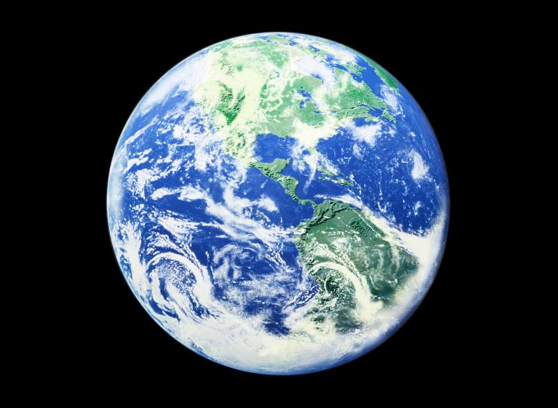 Photo of Planet Earth froms pace