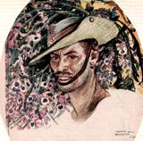 Sketch of Lt William Diebold