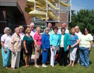 Photo of LA Senior College board 2011-2012