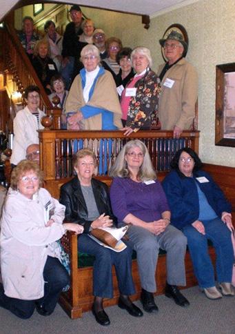 L-A senior college members visit Maine's Paper & Heritage Museum