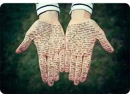poetry hands