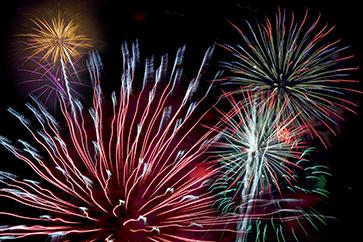 photo of fireworks in sky