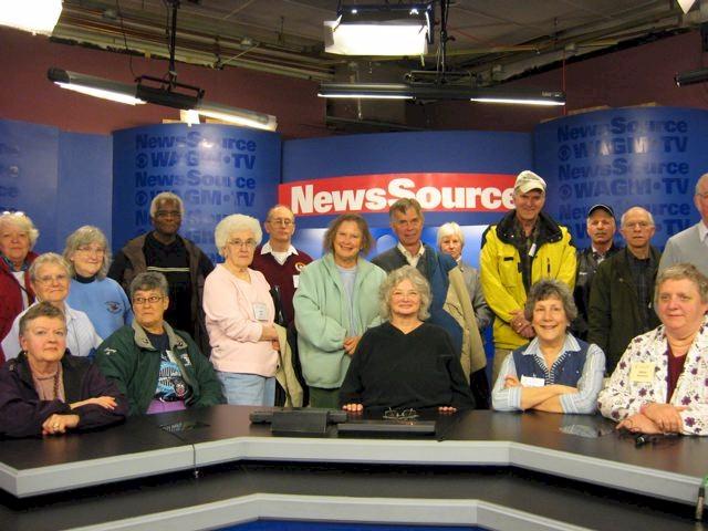 SAGE UMPI at TV Station