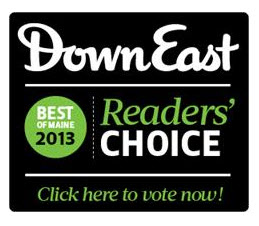 DownEast Readers Choice logo