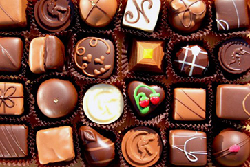 photo of a box of chocolates