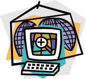 illustration depicting worldwide web