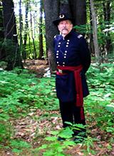 Charles Plummer in Civil War Union Army uniform