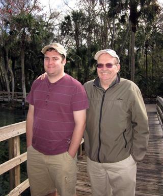 Bob Emmons and son