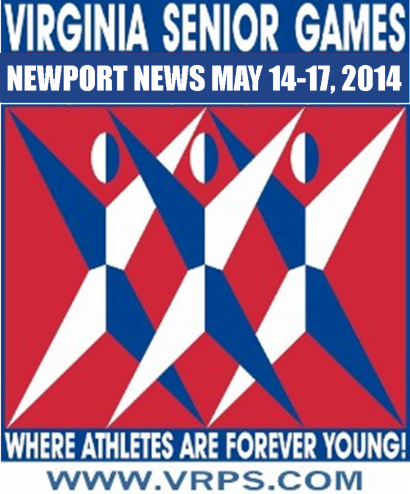 2014 Virginia Senior Games Logo