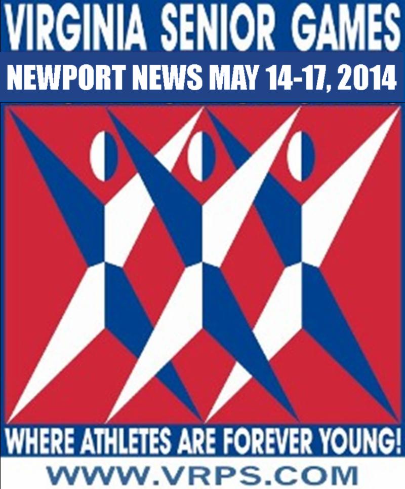2014 Virginia Senior Games Logo