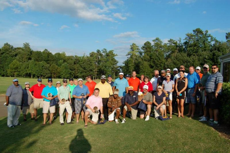 2013 Annual Conference Golf Tournament Crowd