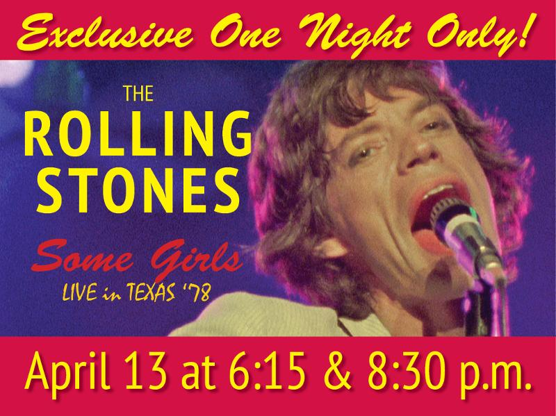 Stones Concert April 13