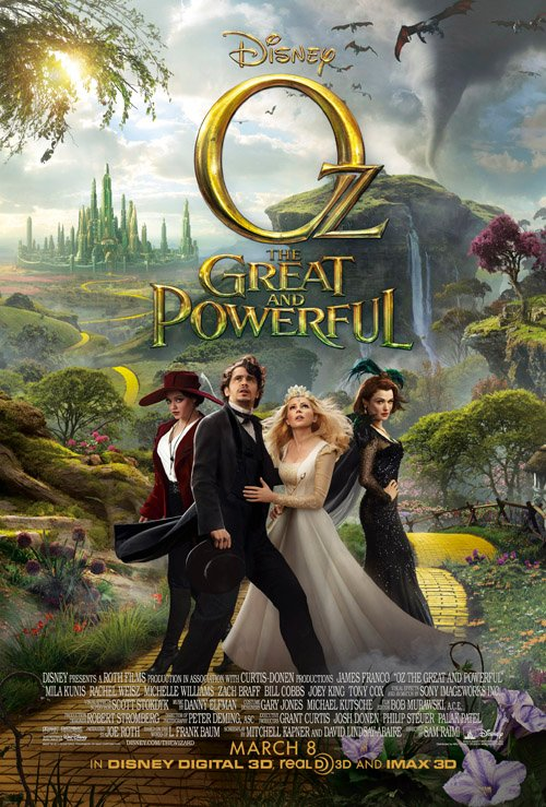 Oz: Great and Powerful COMING IN MAY!